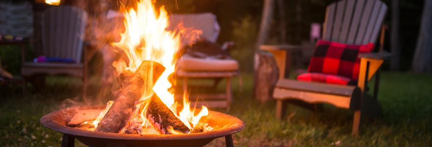 camping en nature chalet