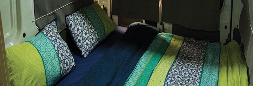 Matelas camping car